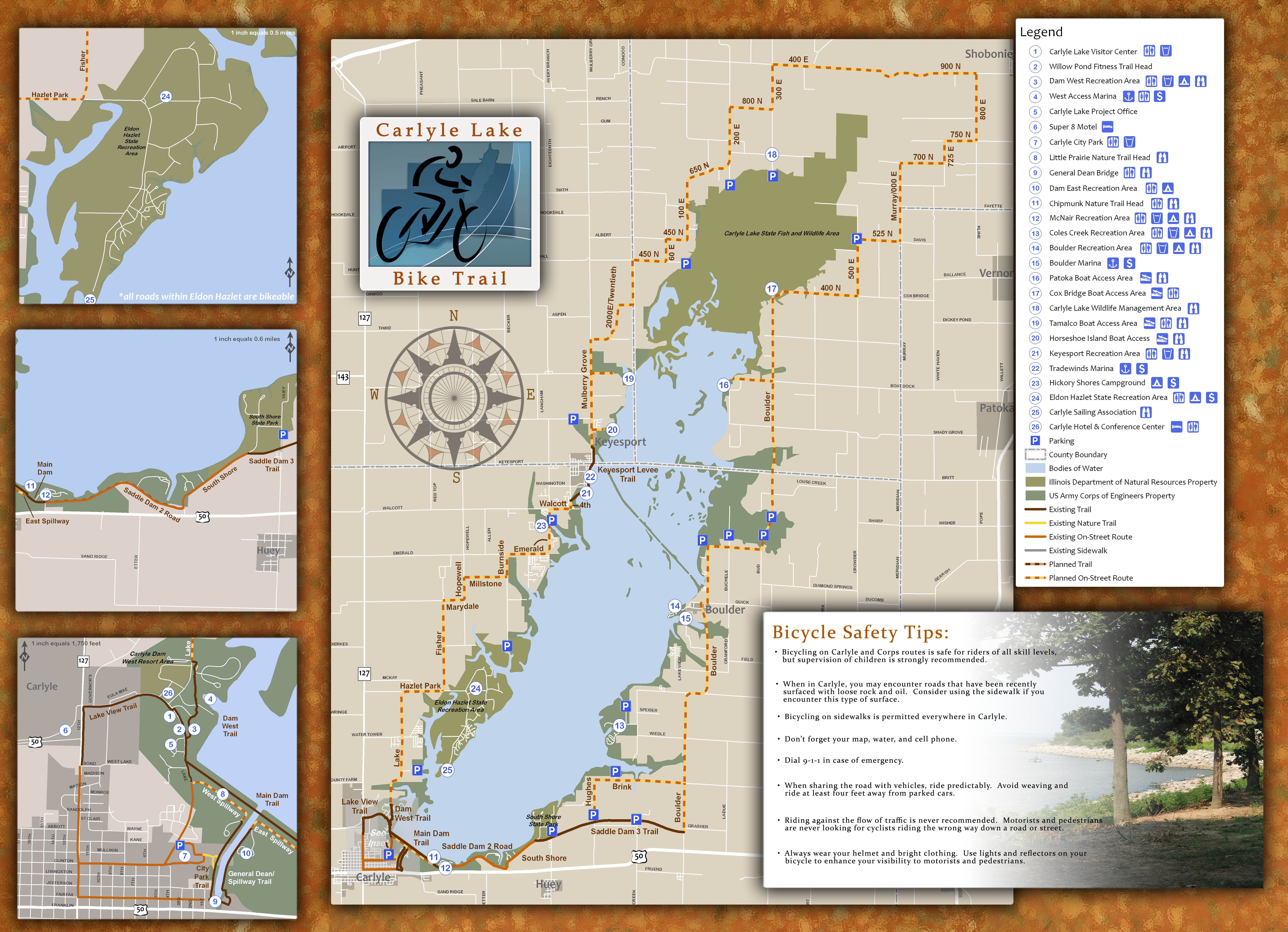 Rend Lake Illinois Map.St Louis District Missions Recreation Carlyle Lake Maps
